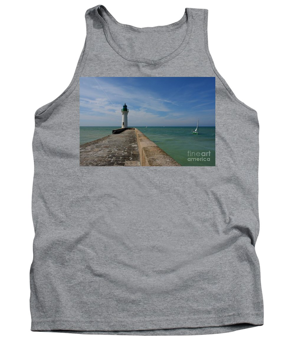 Boat Tank Top featuring the photograph St. Valery En Caux by Brothers Beerens