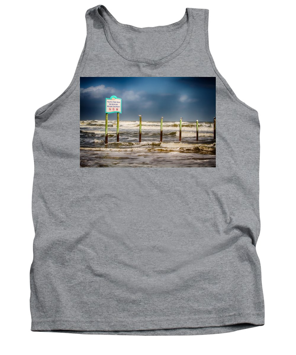 Beach Tank Top featuring the photograph Stating The Obvious by John Haldane