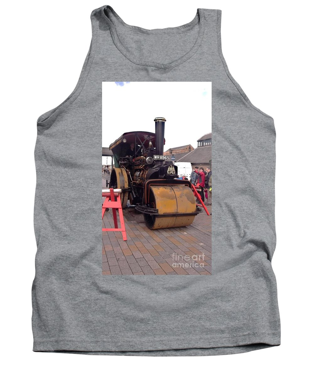 Steam Roller Tank Top featuring the photograph Steam Roller by John Williams