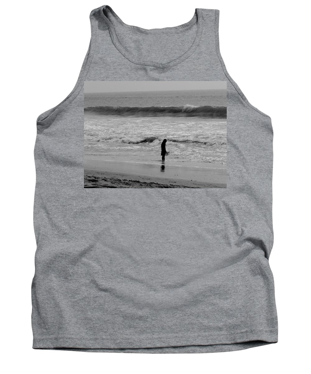 Beach Tank Top featuring the photograph Stillness Now by Jacqueline Howe