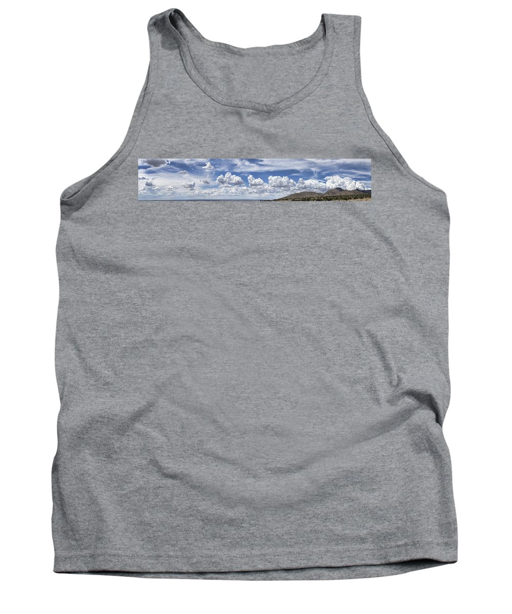Clouds Tank Top featuring the photograph Storm Approaching Panorama by Brian King