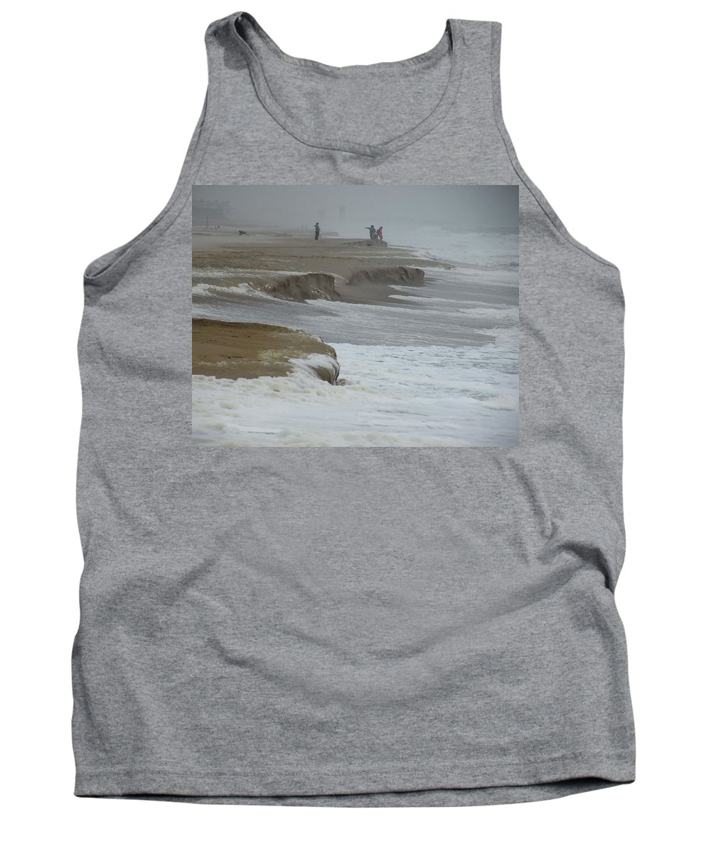 Northeaster Tank Top featuring the photograph Stormy Day by Kim Bemis