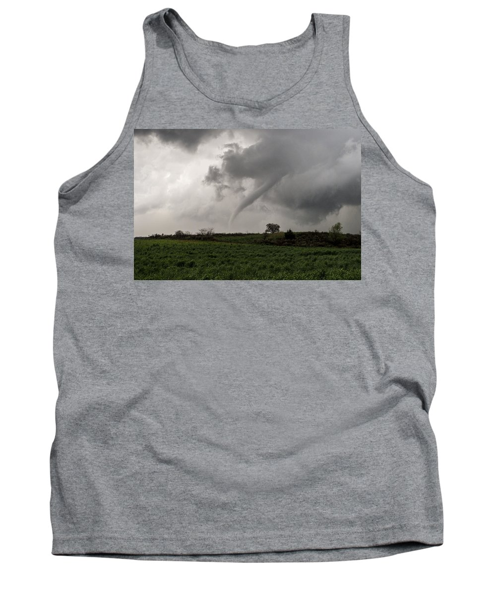 Tornado Tank Top featuring the photograph Stormy Spring Sunday by Eugene Thieszen