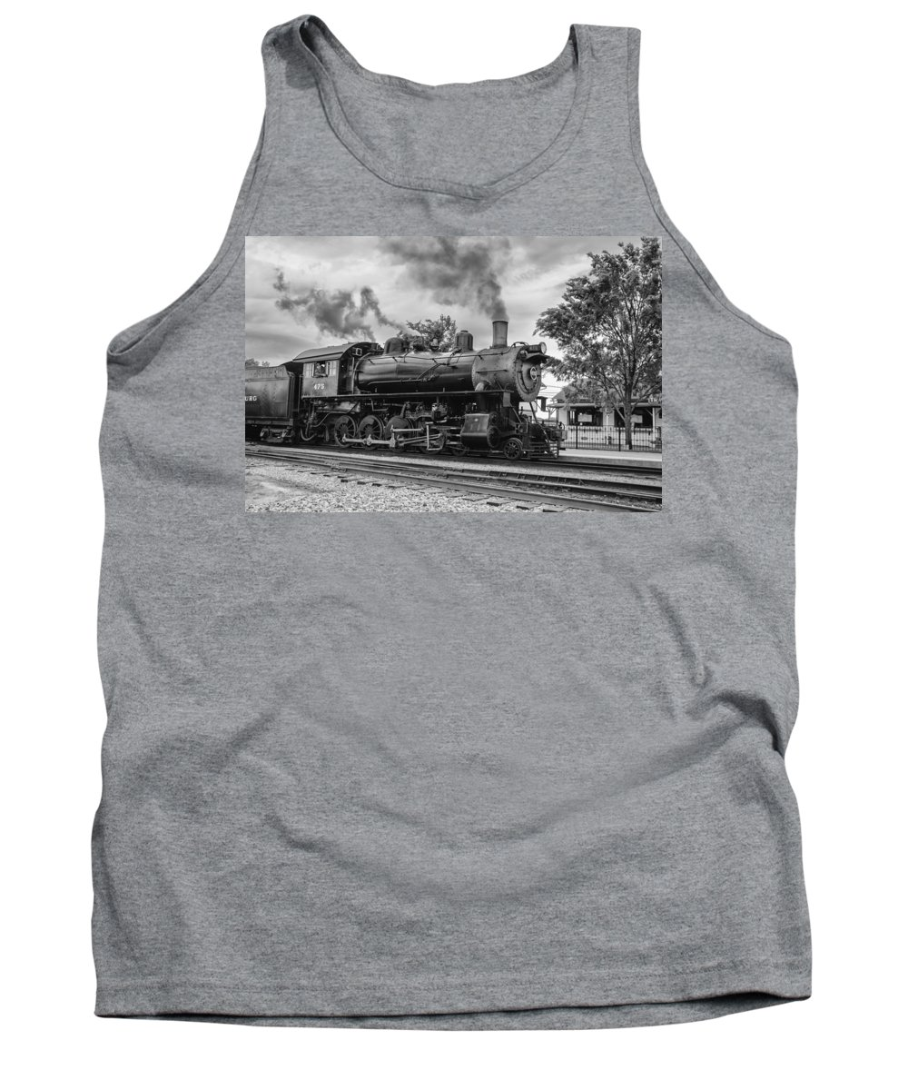 Guy Whiteley Photography Tank Top featuring the photograph Strasburg Rail 475 by Guy Whiteley