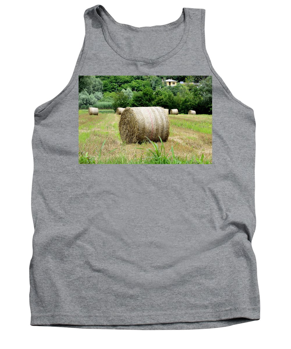 Straw Tank Top featuring the photograph Straw To Collect by Salvatore Gabrielli