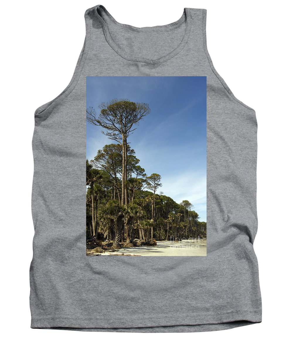 Scenic Tours Tank Top featuring the photograph Sub Tropical Heaven by Skip Willits