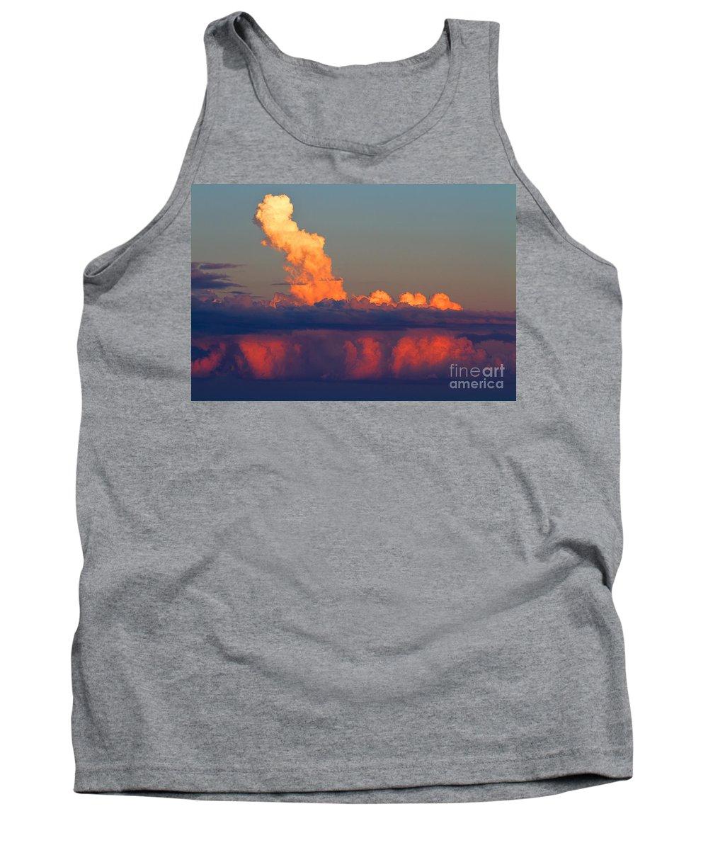 Sunsets/sunrises Tank Top featuring the photograph Summer Cauldron by Jim Garrison