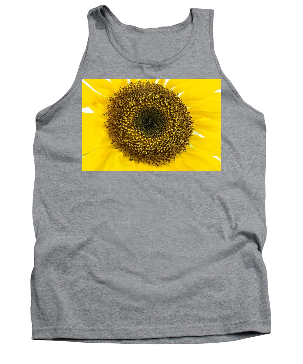 Sun Tank Top featuring the photograph Sunflower by Ross G Strachan