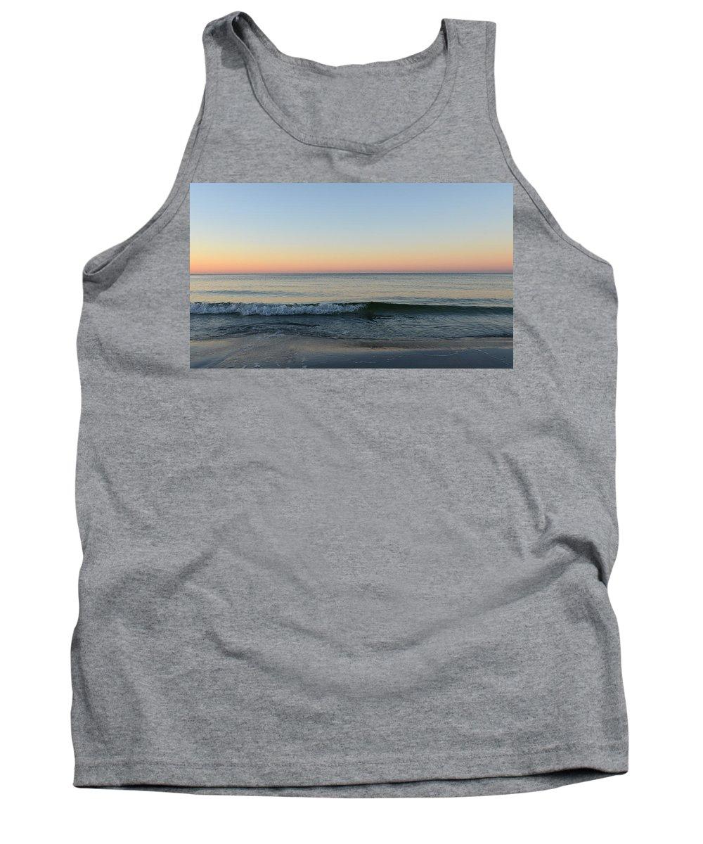 Sunrise Tank Top featuring the photograph Sunrise On Alys Beach by Julia Wilcox