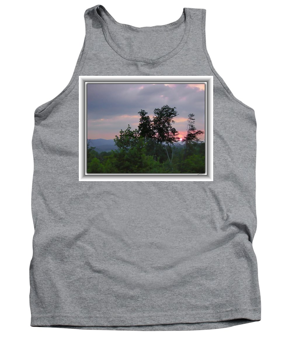 Landscape Tank Top featuring the photograph Sunset At Brasstown Bald by Thomas Fields