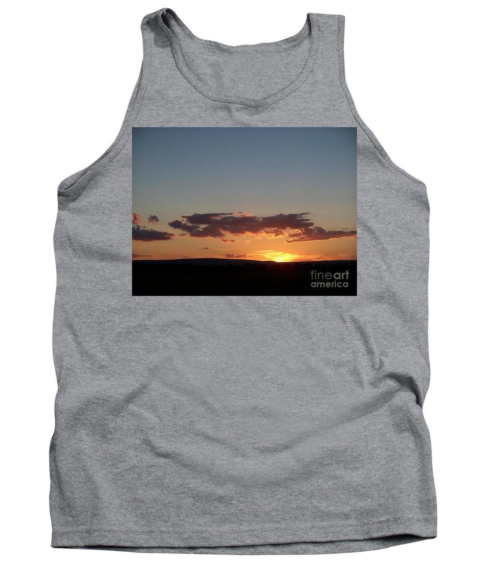 Sunset Tank Top featuring the photograph Sunset In Pennsylvania by Eric Schiabor