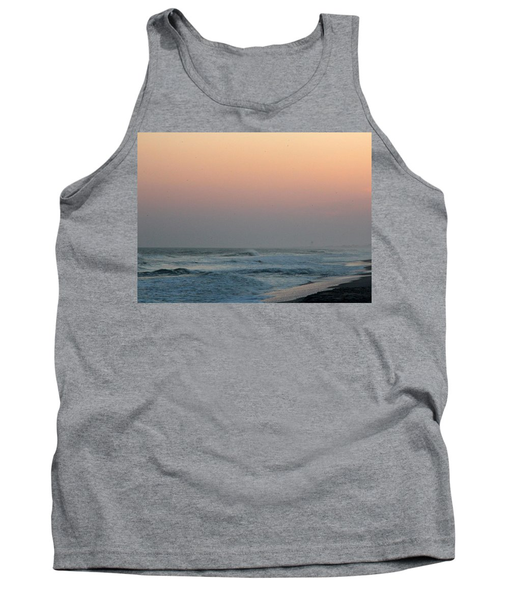 Tank Top featuring the photograph Surf At Sunset 1 by Rand Wall