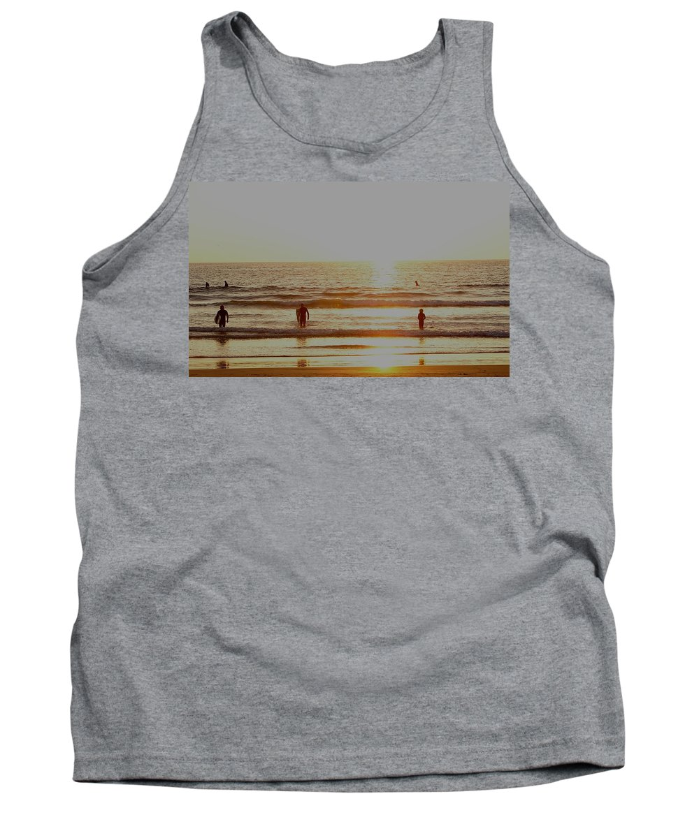 California Tank Top featuring the photograph Surf Up by Keisha Marshall