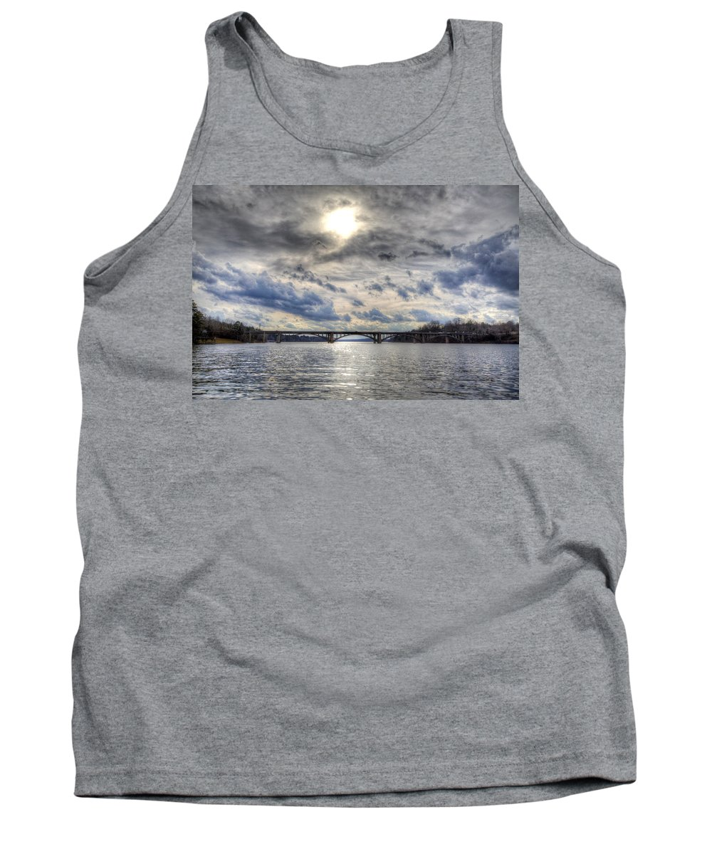 Lake Tank Top featuring the photograph Swift Island Bridge 4 by Jackie Frick Smith