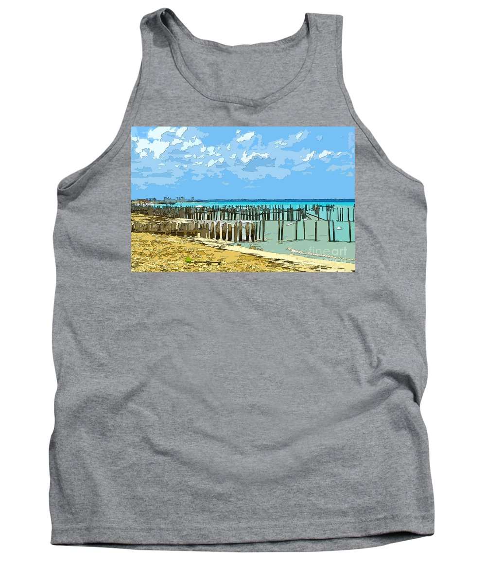 Keri West Tank Top featuring the photograph Take Stock by Keri West