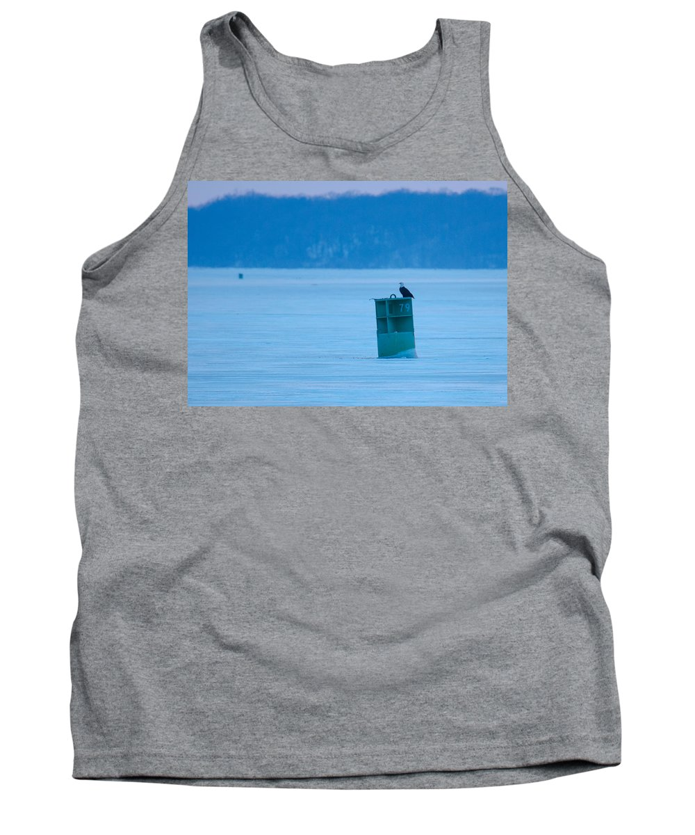 Bird Tank Top featuring the photograph That Was A Delicious Duck by Jeff at JSJ Photography