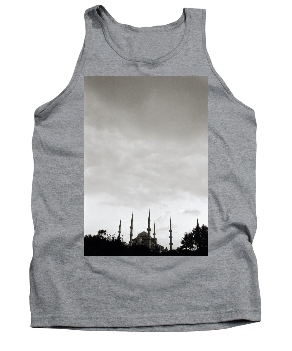 Inspiration Tank Top featuring the photograph The Blue Mosque by Shaun Higson