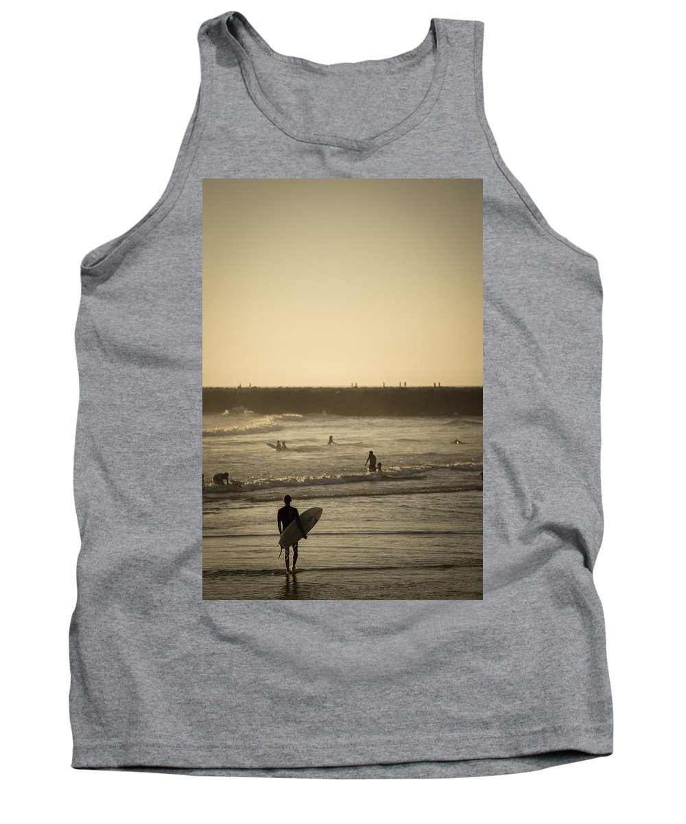 Beach Tank Top featuring the photograph The Boys Of Summer by Peter Tellone