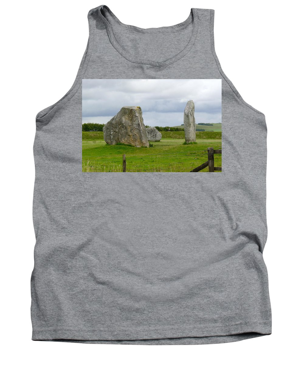 Avebury Tank Top featuring the photograph The Cove At Avebury by Denise Mazzocco