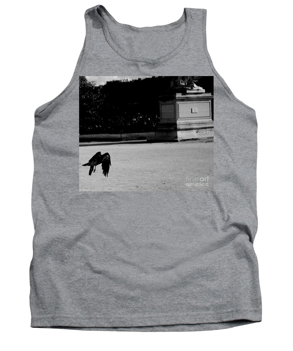 Crow Tank Top featuring the photograph The Crow by Donato Iannuzzi