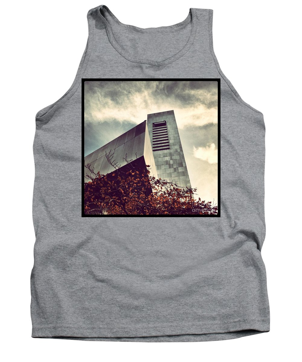 Federal Reserve Tank Top featuring the photograph The Financial Church Of Boston by Mark Valentine