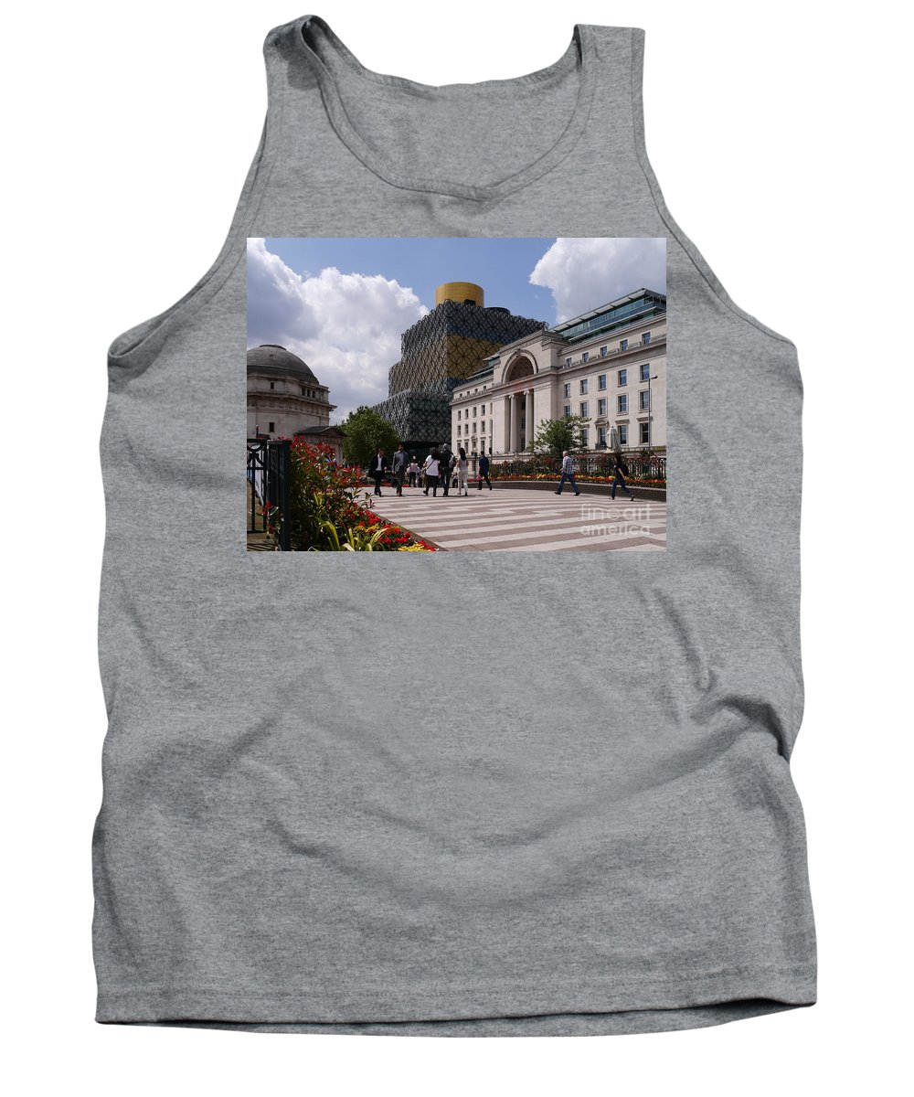 Library Tank Top featuring the photograph The Library Of Birmingham by John Chatterley