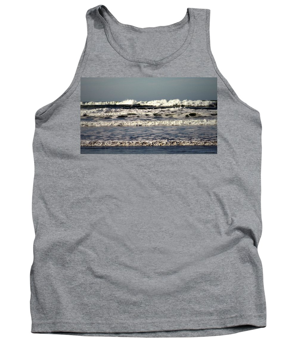Pacific-ocean Tank Top featuring the photograph The Mighty Pacific II by Joyce Dickens