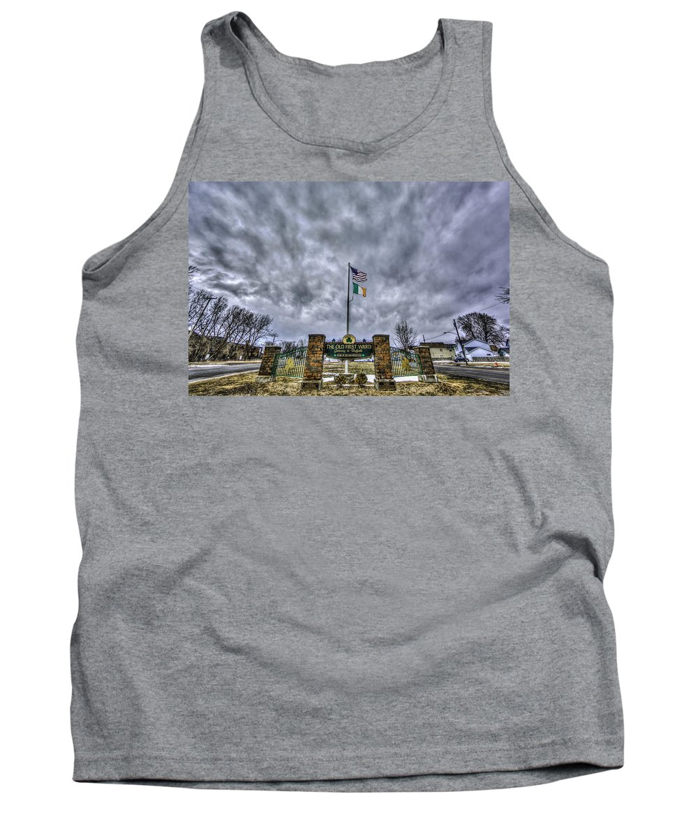 Buffalo Photographs Tank Top featuring the photograph The Old First Ward by John Lattanzio