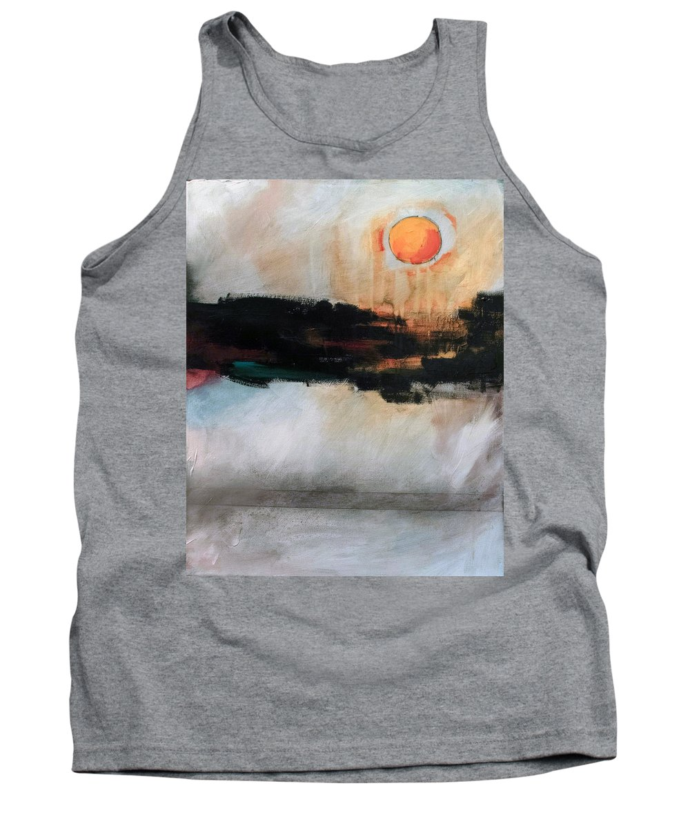 River Tethys Tank Top featuring the painting The River Tethys Part Three Of Three by Sean Parnell