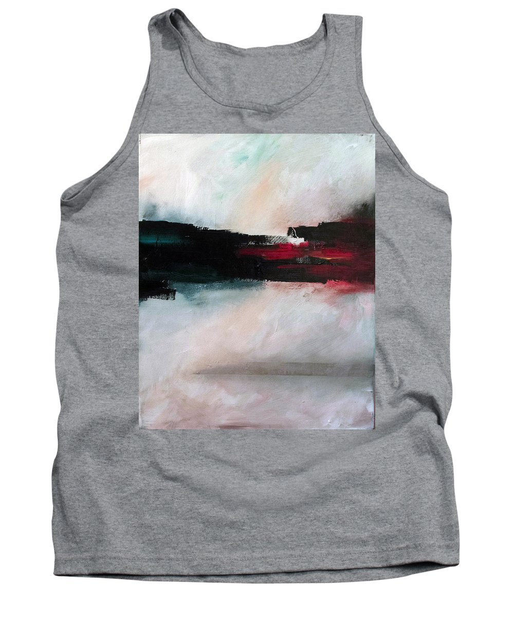 River Tethys Tank Top featuring the painting The River Tethys Part Two Of Three by Sean Parnell