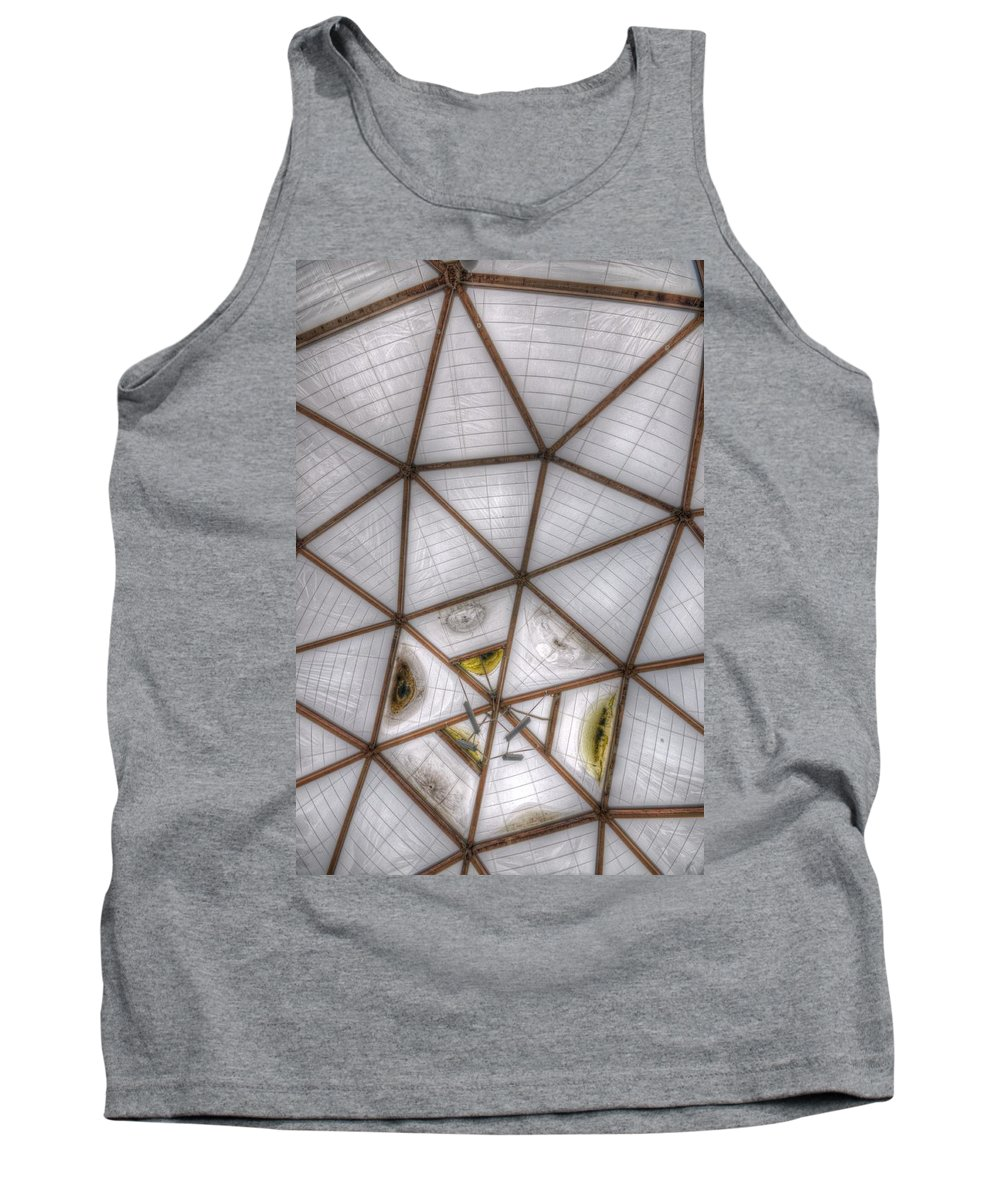 Health Tank Top featuring the digital art The Roof by Nathan Wright