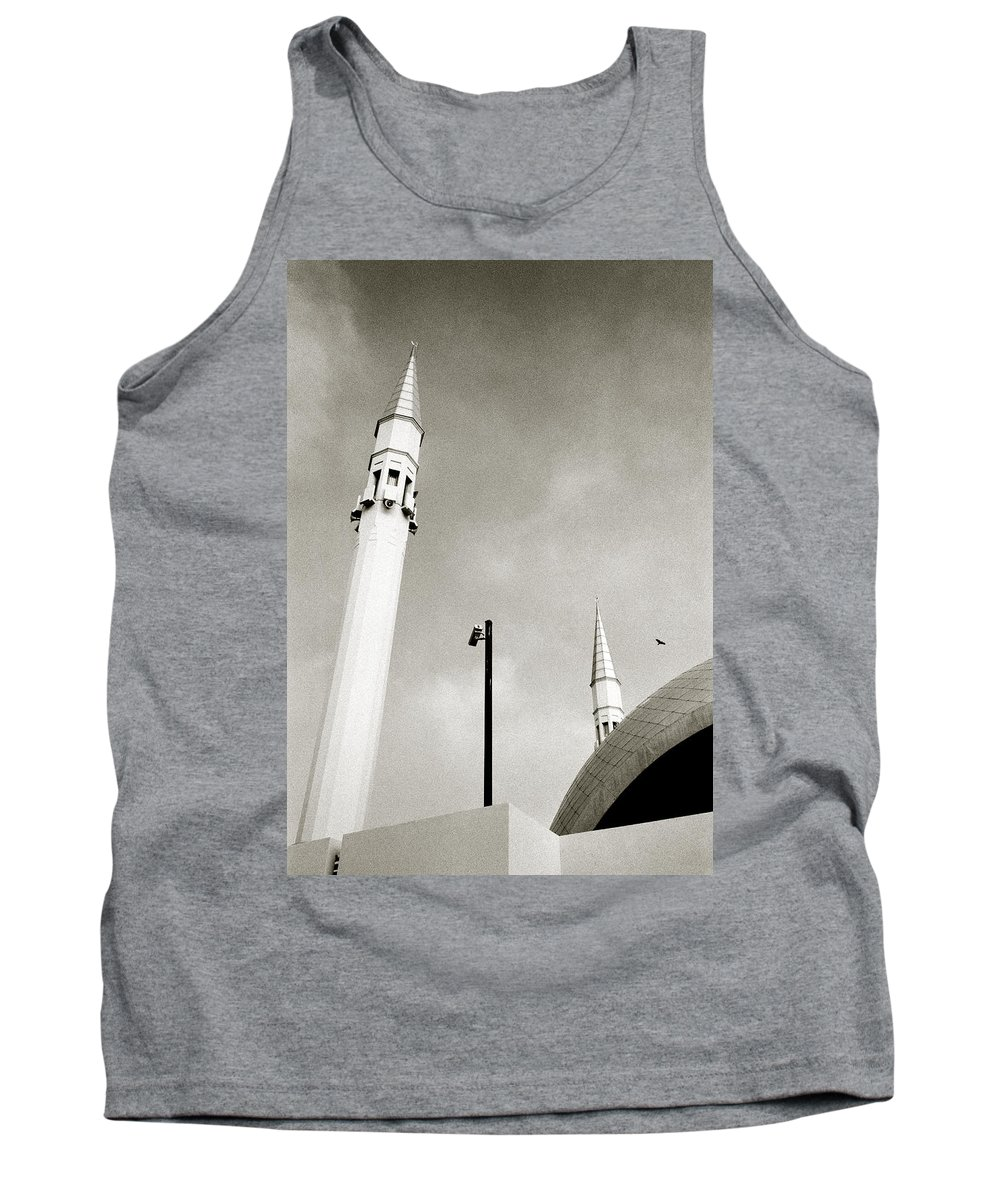 Modern Tank Top featuring the photograph The Security Camera by Shaun Higson