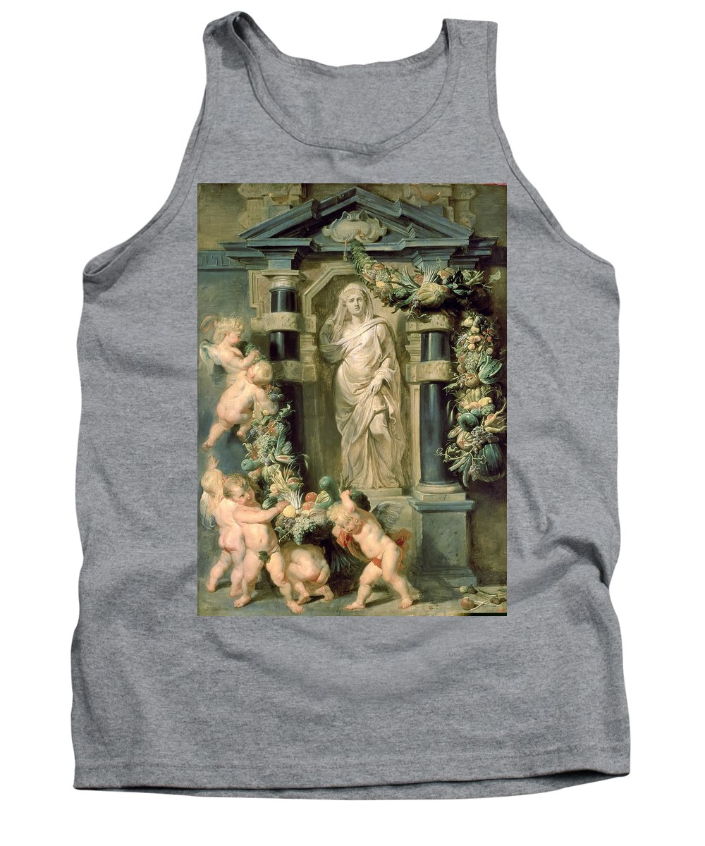 Peter Paul Rubens Tank Top featuring the painting The Statue Of Ceres by Peter Paul Rubens