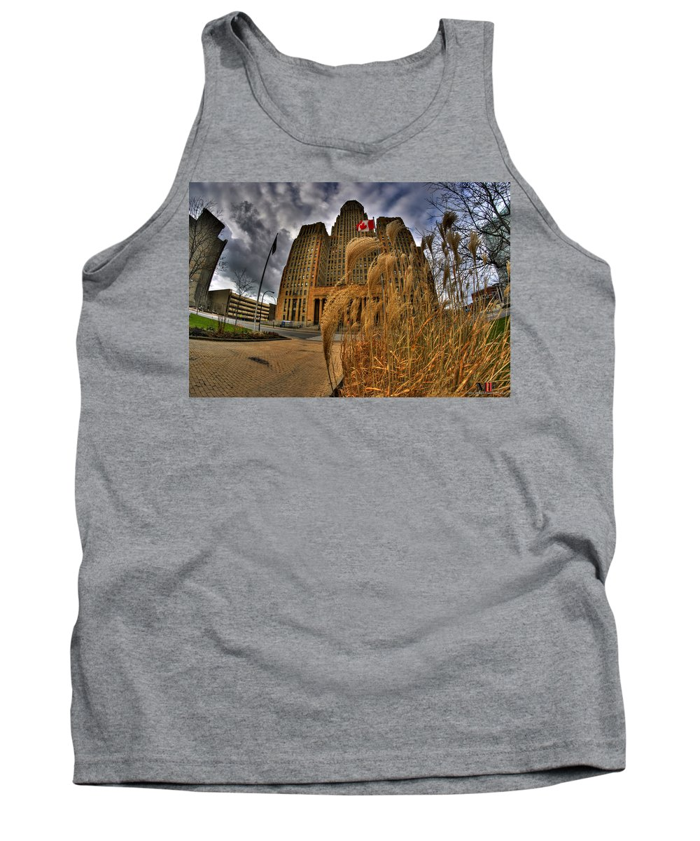Michael Frank Jr Tank Top featuring the photograph The Twisting Winds Of The Square by Michael Frank Jr
