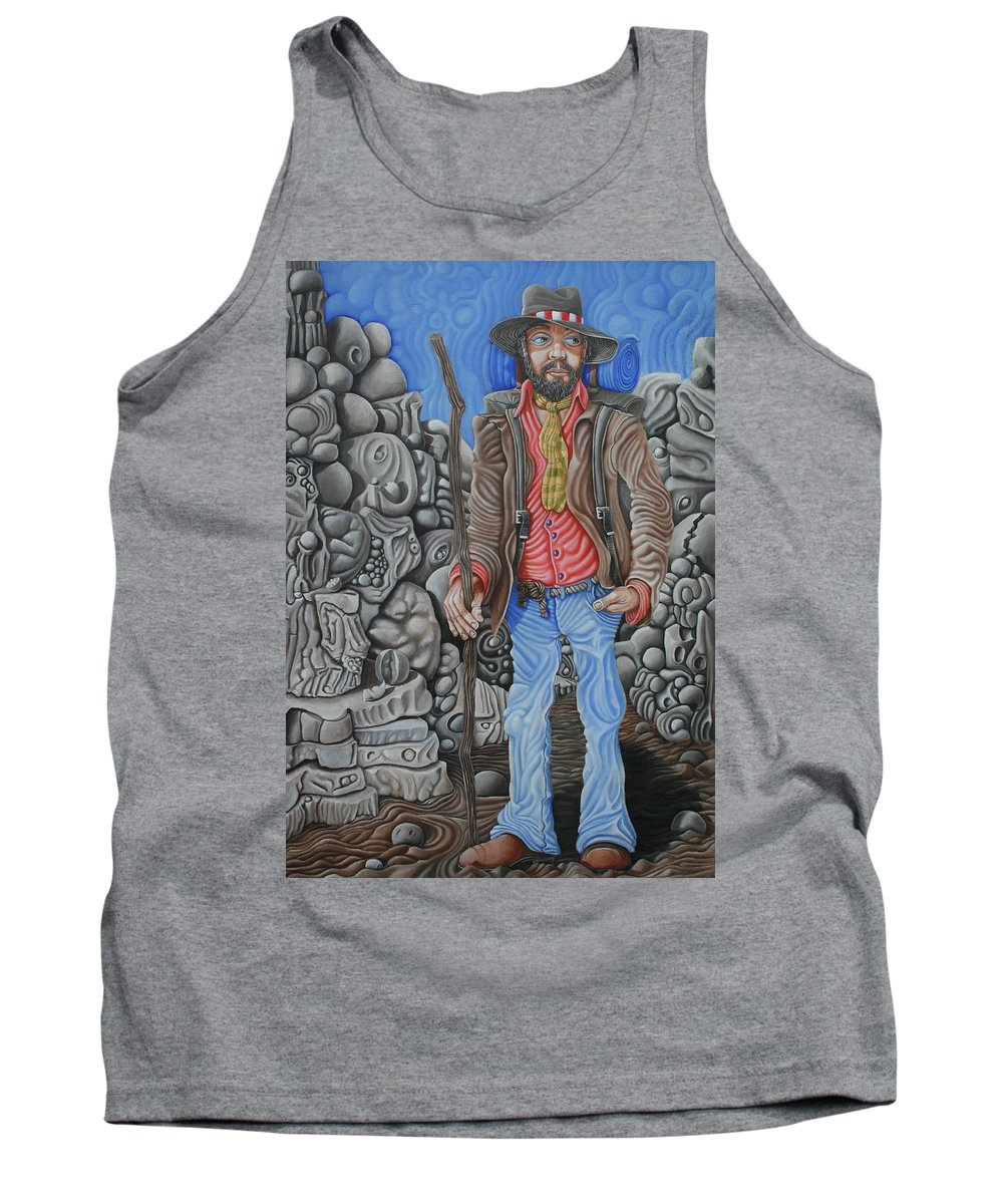 Vagabond Tank Top featuring the painting The Vagabond by Don Martinelli