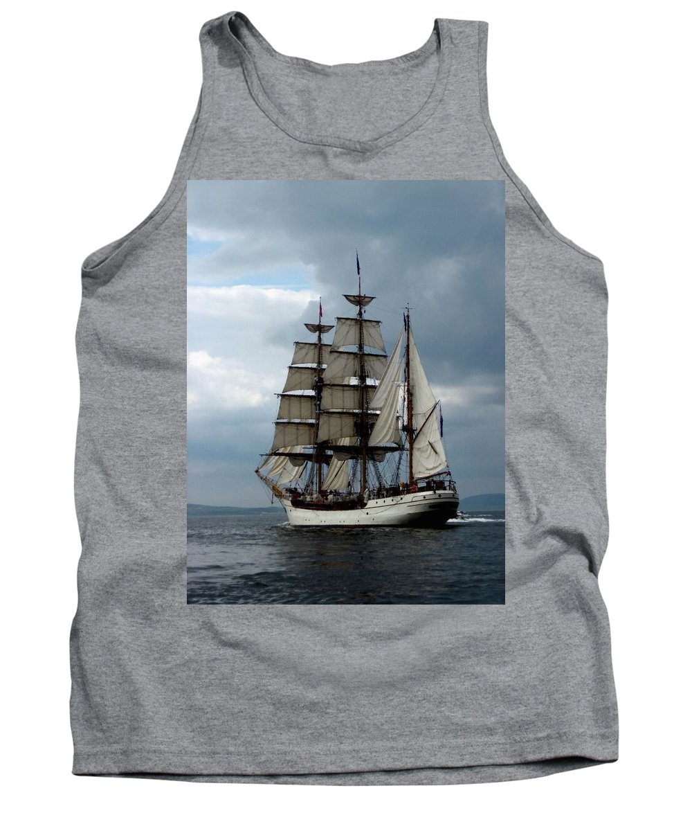Announcement Tank Top featuring the painting The Vasco Gonsalves Del Portas V B by Gert J Rheeders