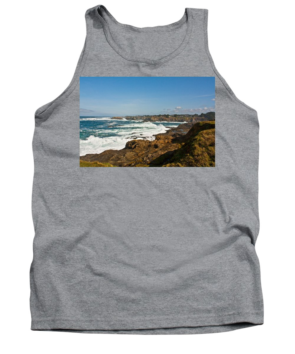 Ocean Tank Top featuring the photograph The West Coast by Brian Williamson