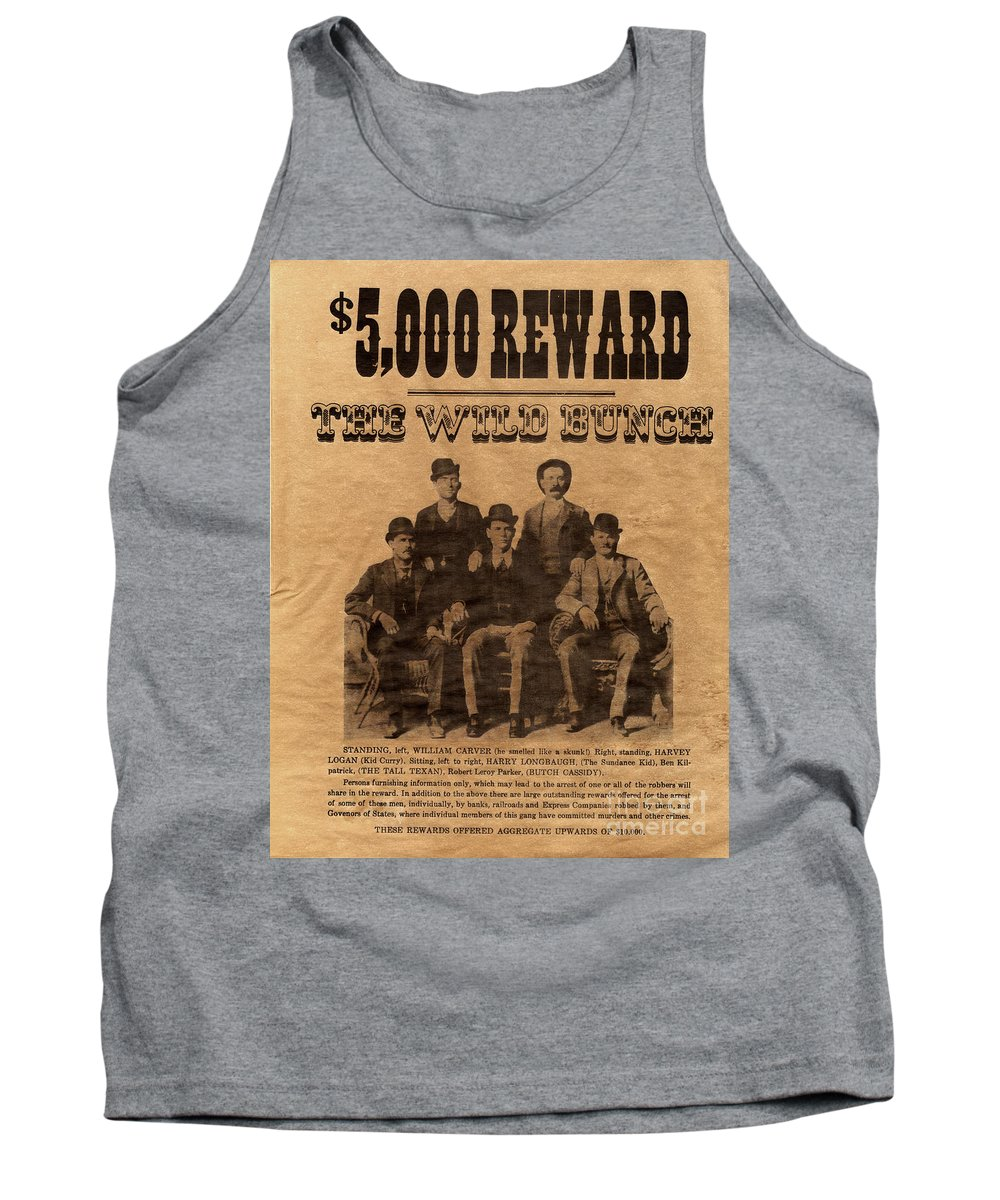 The Wild Bunch Tank Top featuring the photograph The Wild Bunch by Paul W Faust - Impressions of Light