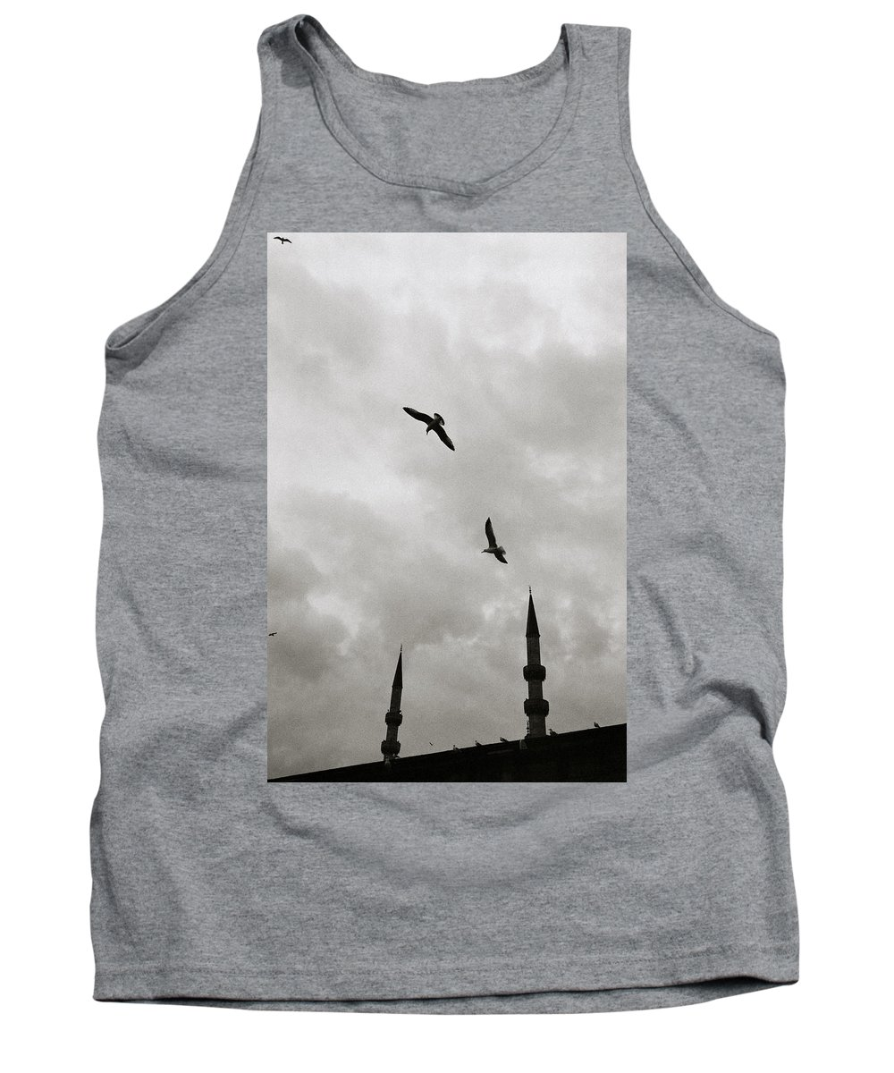 Surreal Tank Top featuring the photograph Dreaming Skies by Shaun Higson