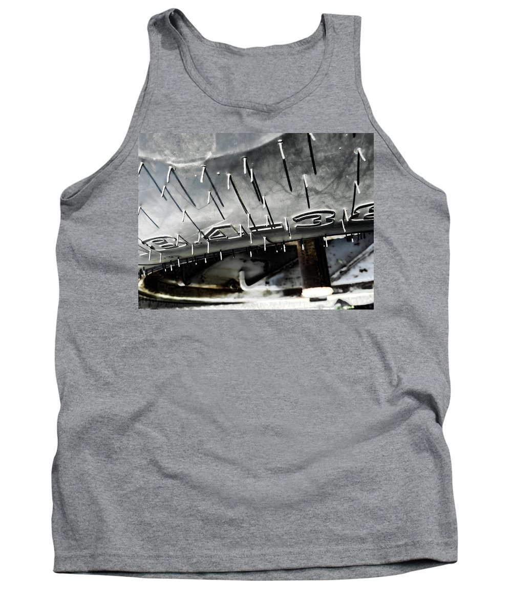 Tire Tank Top featuring the photograph Tire D by Cathy Anderson