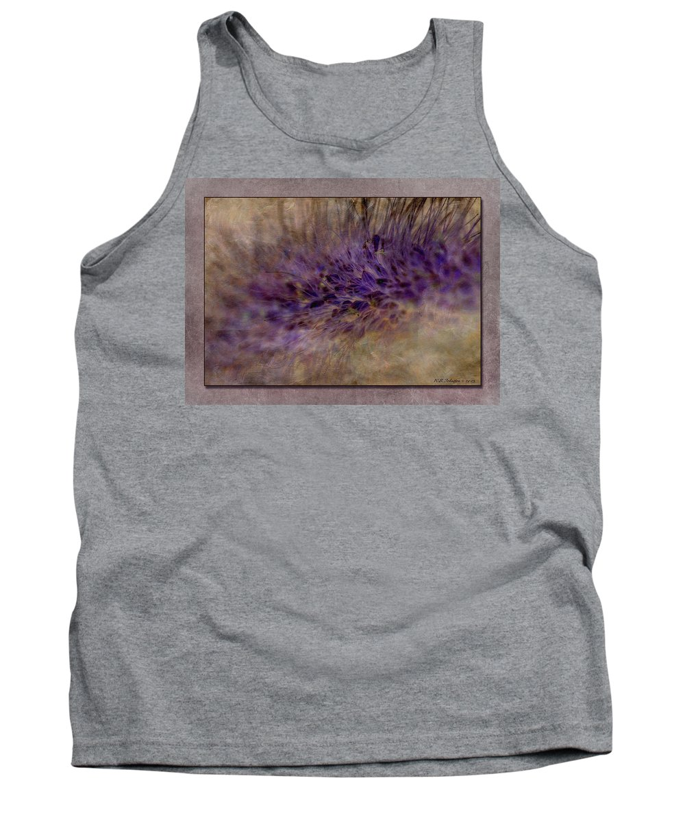 Seeds Tank Top featuring the photograph To Seed by WB Johnston