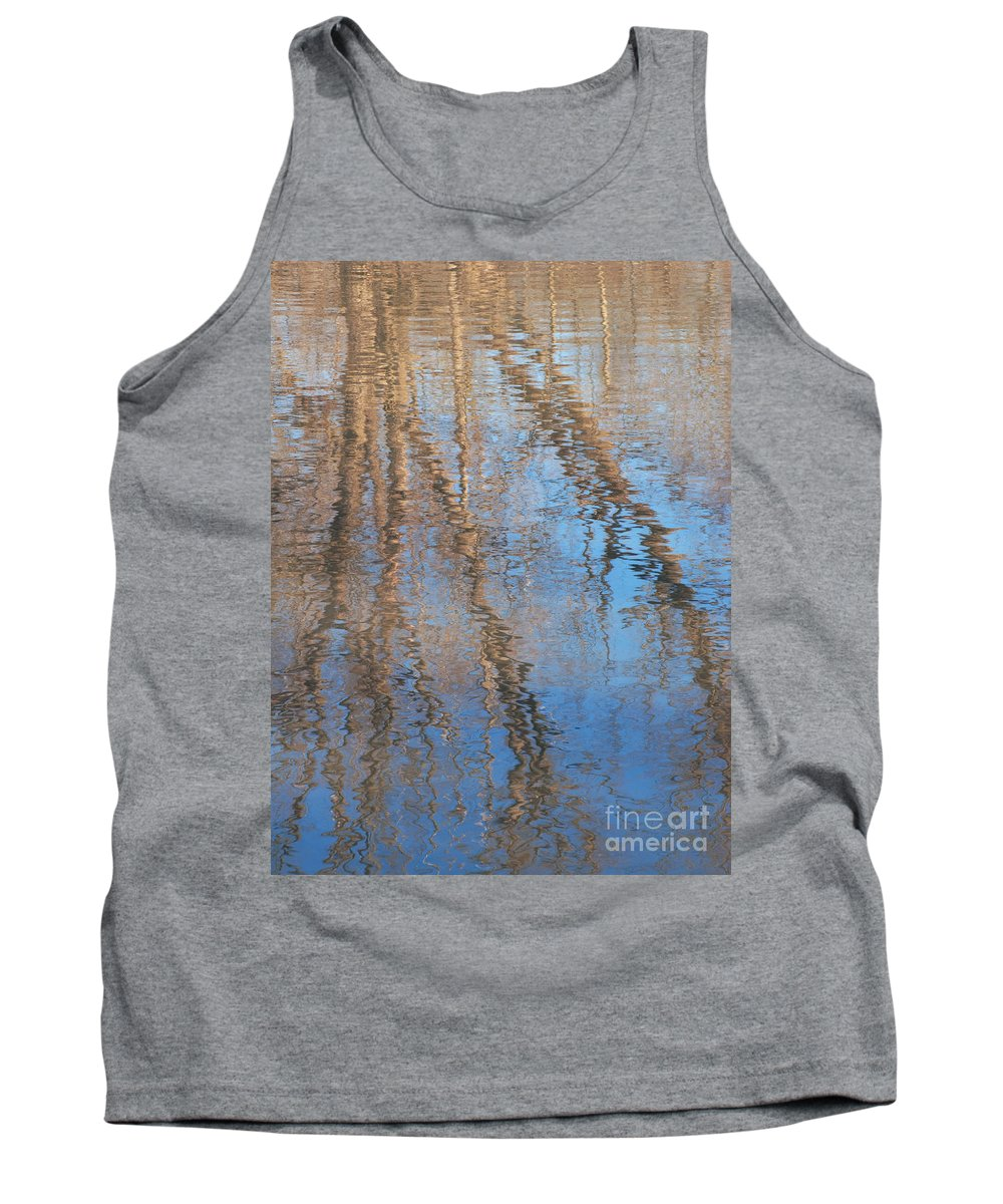 Tree Tank Top featuring the photograph Topside Down by Ann Horn