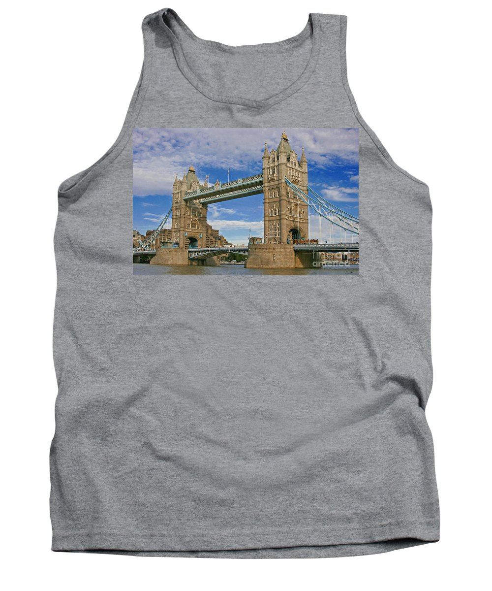 London Tank Top featuring the photograph Tower Bridge by Traci Law