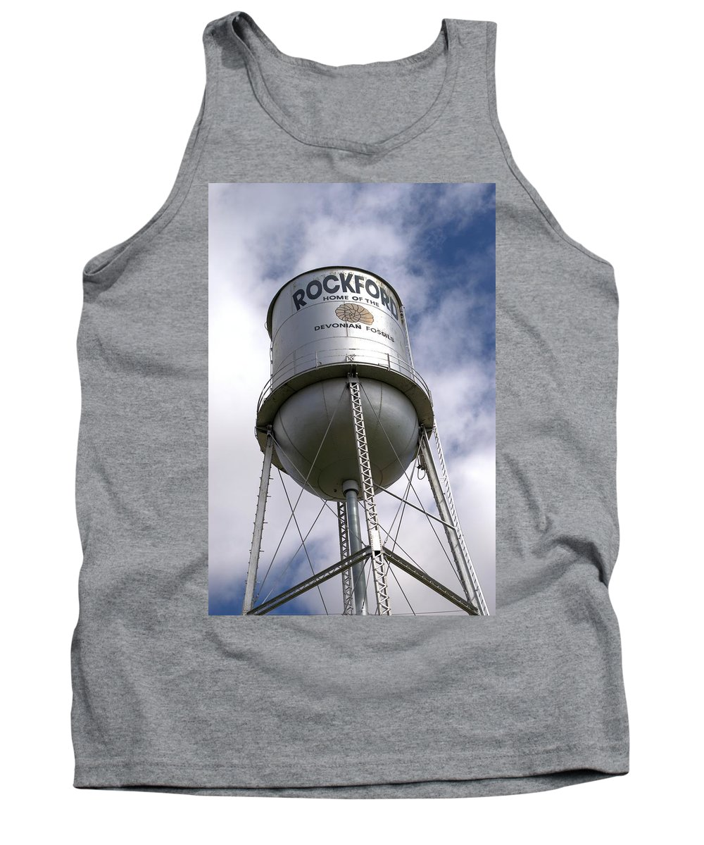 Rockford Tank Top featuring the photograph Towering by Bonfire Photography