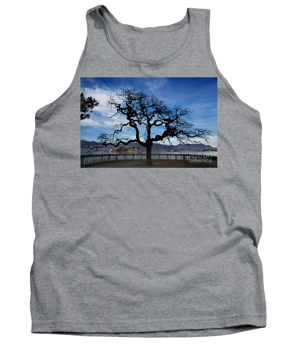 Tree Tank Top featuring the photograph Tree And Borromee Islands by Mats Silvan