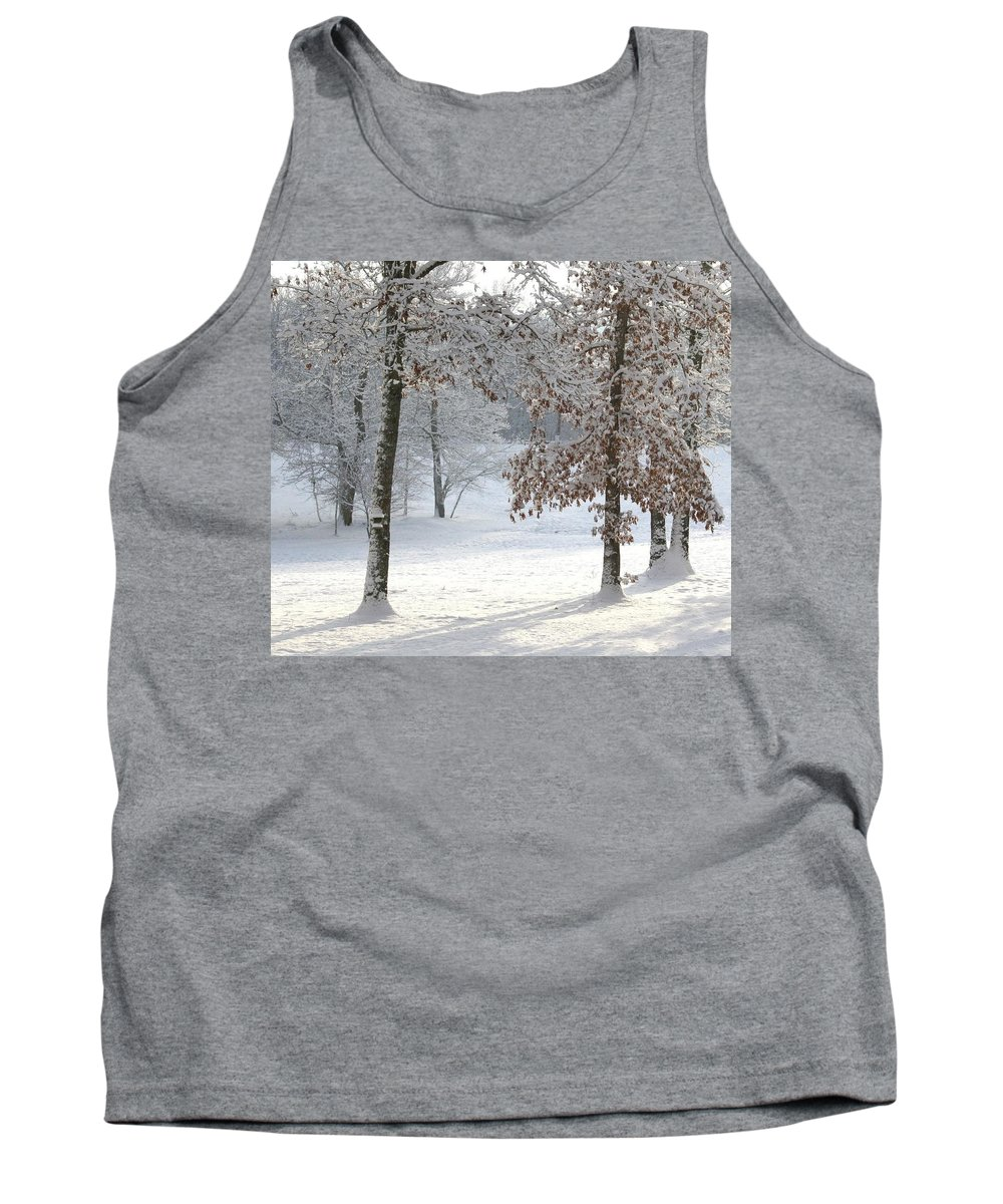 Tree Shadows Tank Top featuring the photograph Tree Shadows by Cody Cookston