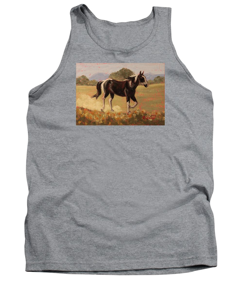 Ruth Soller Tank Top featuring the painting Triumph by Ruth Soller