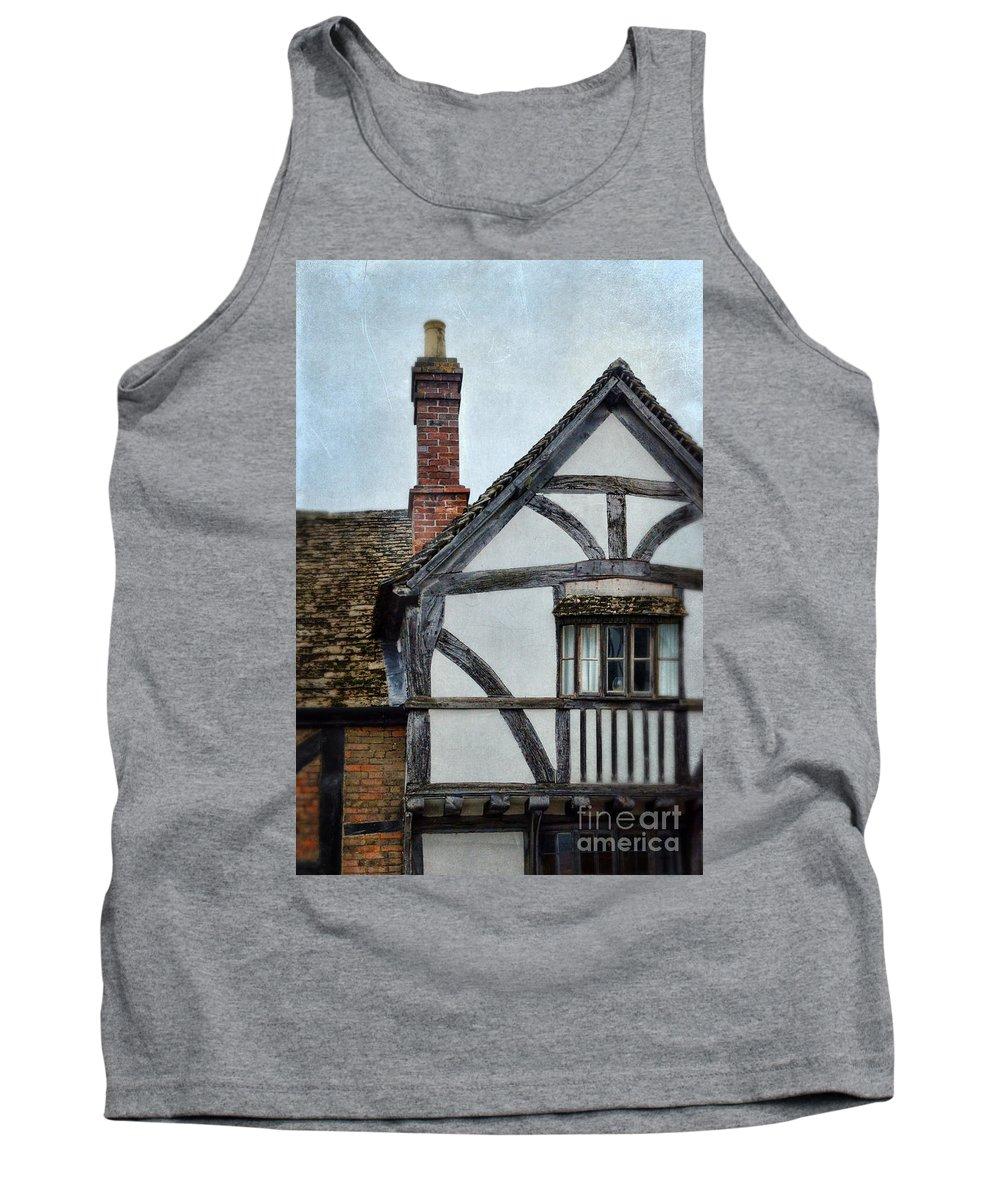 House Tank Top featuring the photograph Tudor House by Jill Battaglia