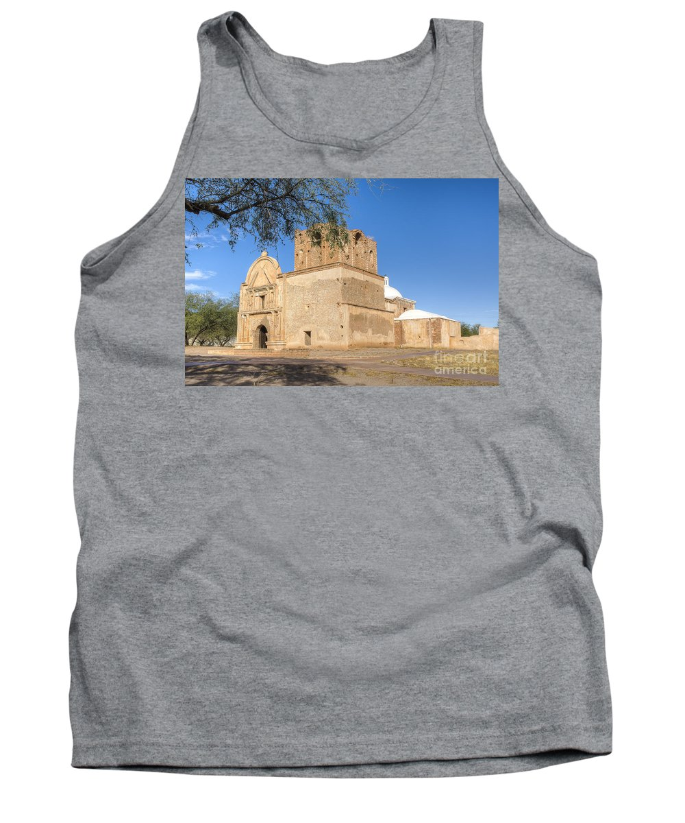 Mission Tank Top featuring the photograph Tumacacori 50 by Larry White