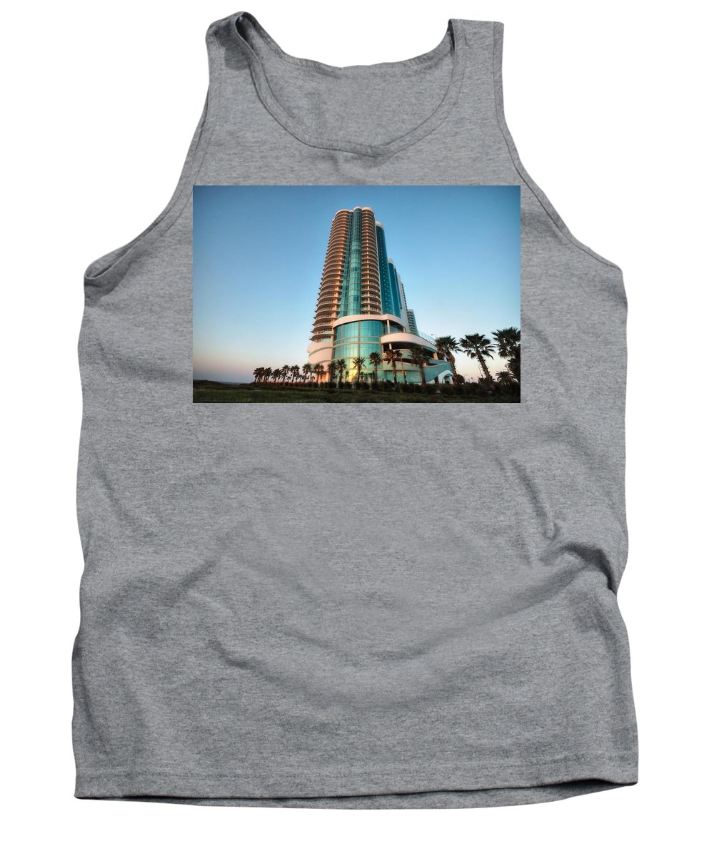 Alabama Photographer Tank Top featuring the digital art Turquoise Place Rising by Michael Thomas